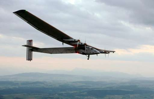 Solar Impulse 2 took off from the UAE on March 9, powered by 17,000 solar cells, with the aim of promoting renewable energy thro