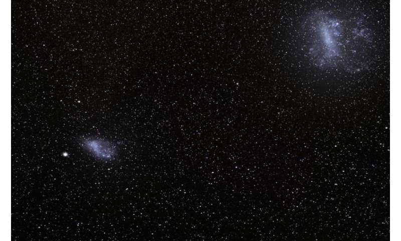 Scientists detect stellar streams around Magellanic Clouds