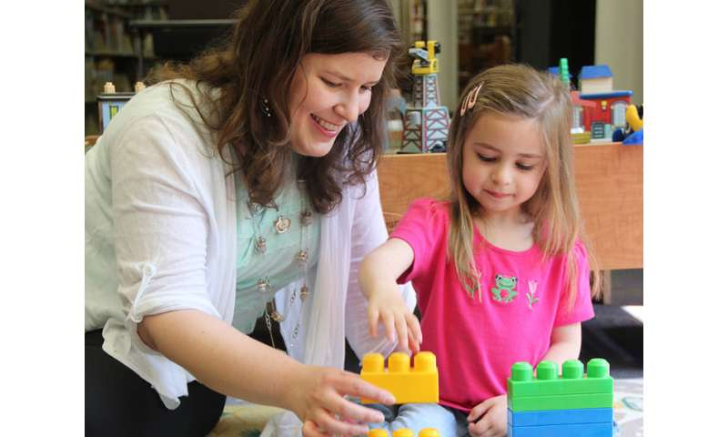 Research shows that the type of toys matters when it comes to how parents speak