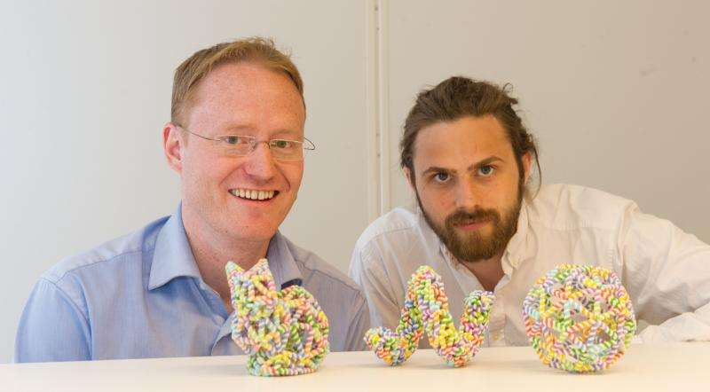 3D 'printouts' at the nanoscale using self-assembling DNA structures