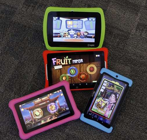 Kiddie tablets 'grow up' as competition grows