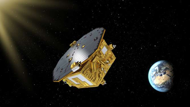 LISA Pathfinder will pave the way for us to 'see' black holes for the first time