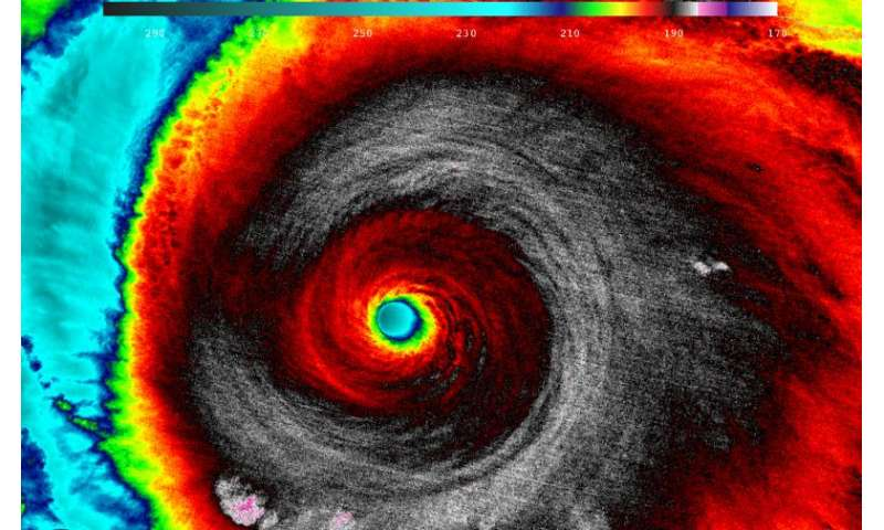 NASA analyzes record-breaking Hurricane Patricia