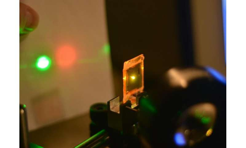 Newly developed liquid crystal elastomer material could enable advanced sensors