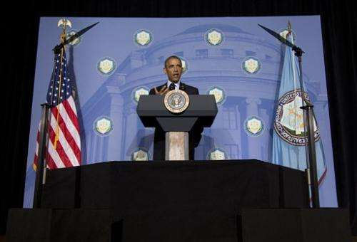 Obama: With tech advances come privacy risks for US (Update)