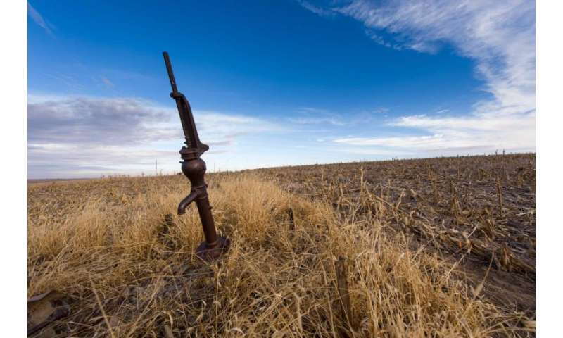 Study finds High Plains Aquifer peak use by state, overall usage decline