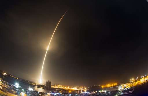 SpaceX launches rocket six months after accident, then lands