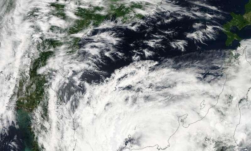 NASA sees Tropical Storm Nangka moving into Sea of Japan