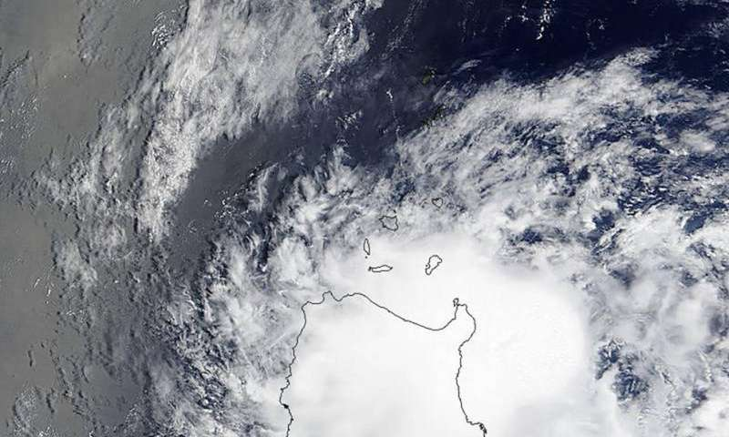NASA sees Tropical Cyclone 12W grow into a Tropical Storm