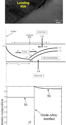 Mathematical kinetics model accurately depicts grain-level corrosion plaguing metal alloys