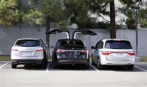 Tesla S First Suv The Model X Is Finally Hitting The