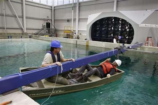 UMaine debuting ocean simulator to test sea-bound technology