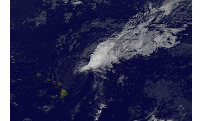 NASA sees Tropical Storm Guillermo's big stretch