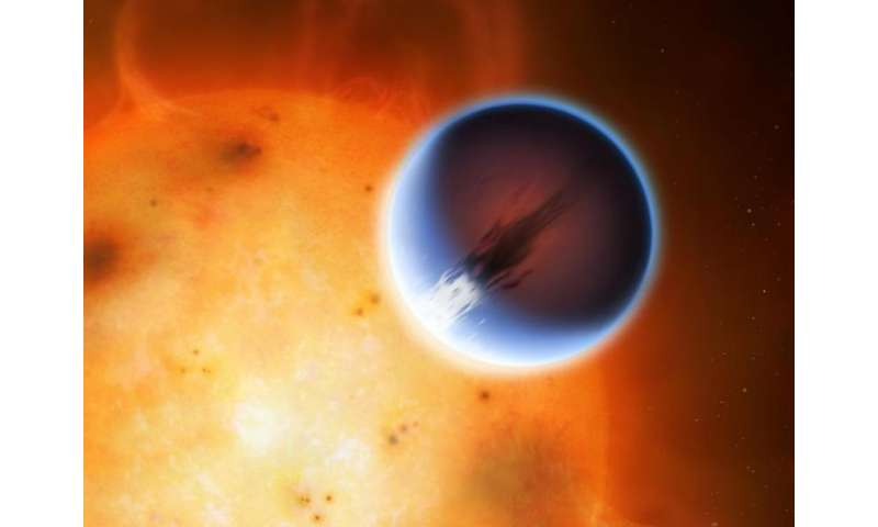 5400mph winds discovered hurtling around exoplanet