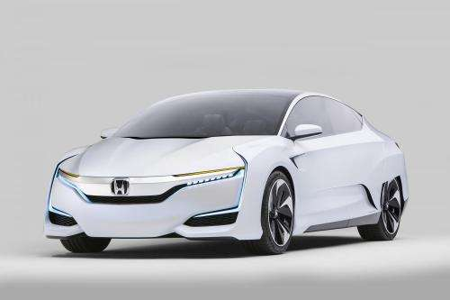 Honda FCV Concept fuel-cell vehicle makes debut in Detroit