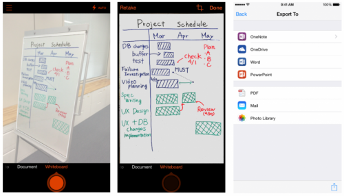 The iPhone gets Office Lens app, Android in preview