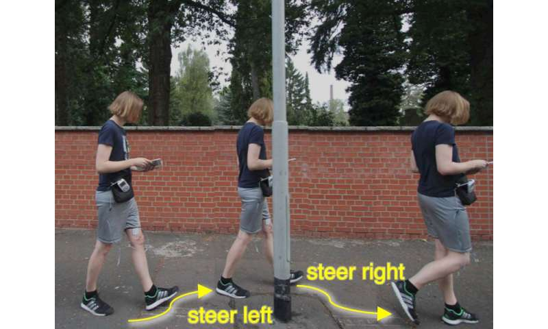 Mapless walkers use electrical muscle stimulation (w/ video)