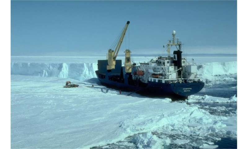 Sudden onset of ice loss in Antarctica detected