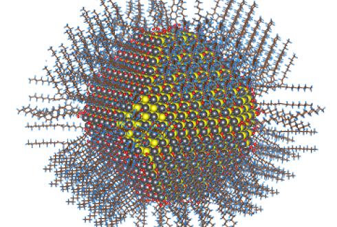 The world's first model for engineered nanoparticles in surface waters