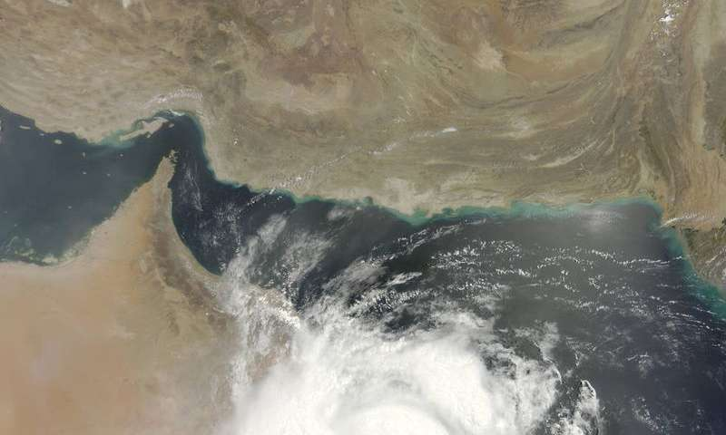 NASA satellite shows Tropical Cyclone Ashobaa approaching Oman