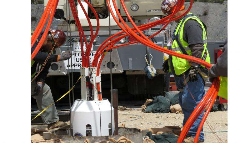 Laboratory's role in underground explosives tests will help nation's detection capabilities