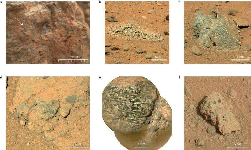Curiosity finds rocks that might point to a continental crust on Mars