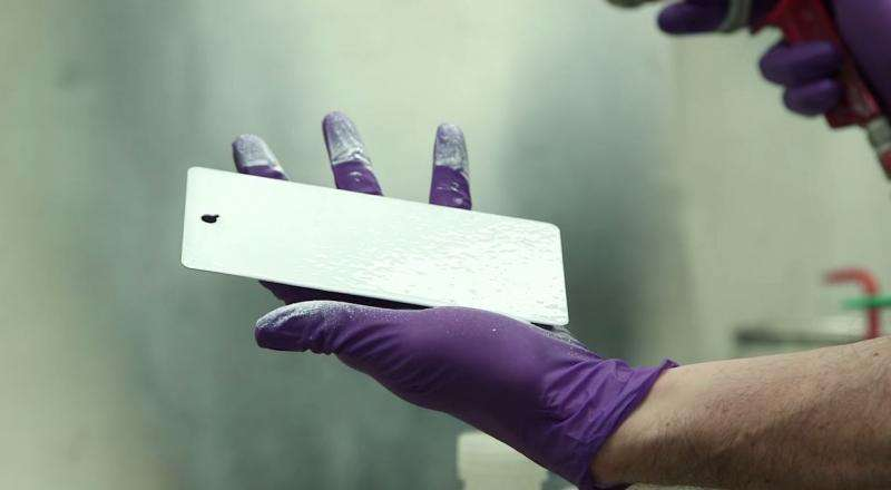 Glass paint could keep metal roofs and other structures cool even on sunny days