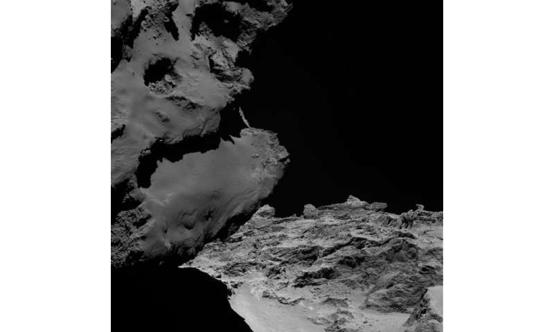 Rosetta comet likely formed from two separate objects
