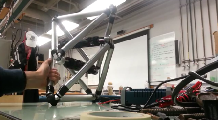 A tensegity robot to clean and explore ducts