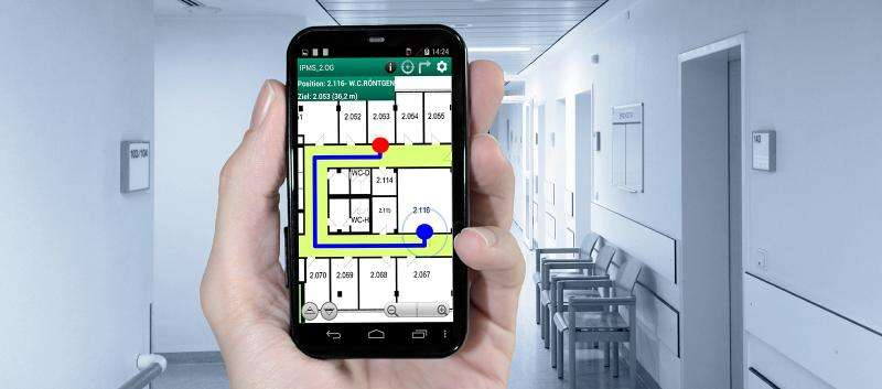 The navigation app for buildings