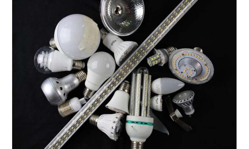 Economic LED recycling