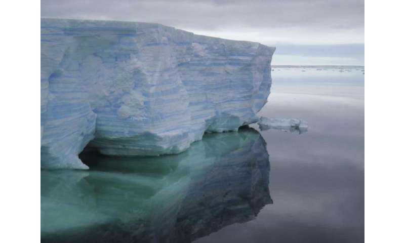 Sea level rise from Antarctic collapse may be slower than suggested