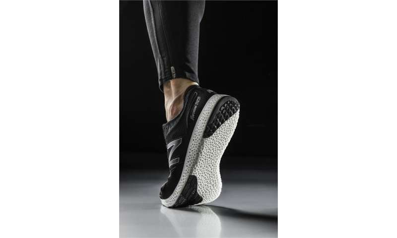 New Balance running shoe to hit stride with 3D printing