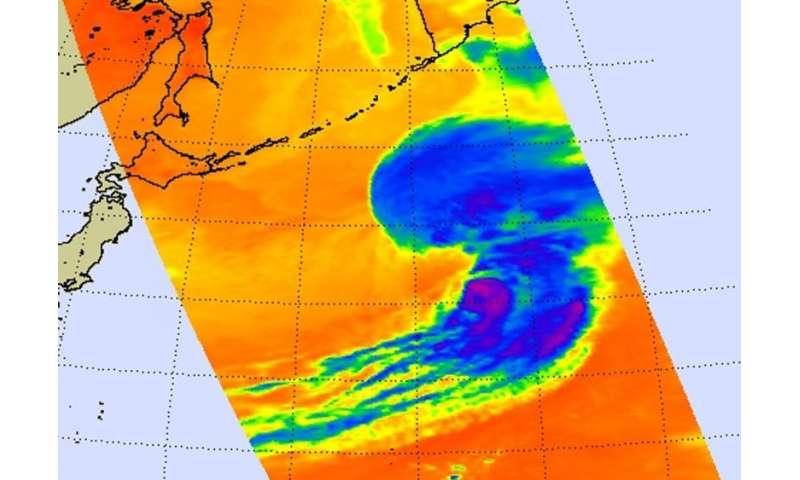 NASA sees Tropical Cyclone Atsani bow out