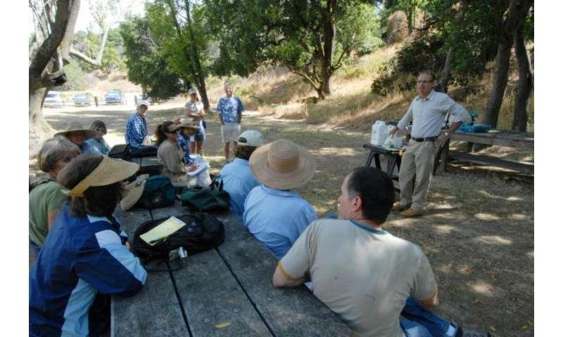 Citizen science helps predict spread of sudden oak death