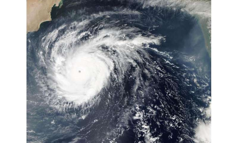 NASA analyzes powerful Cyclone Chapala's rainfall over the Arabian Sea