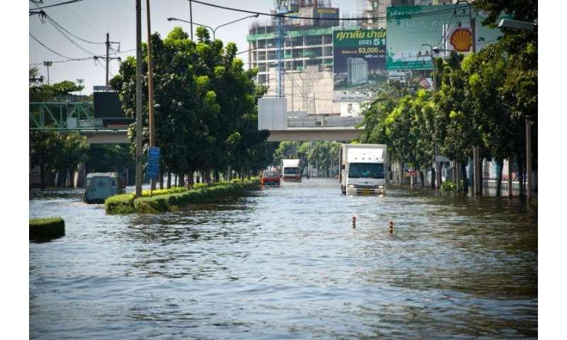Climate change not the main cause for increase in flood risk in flood prone areas