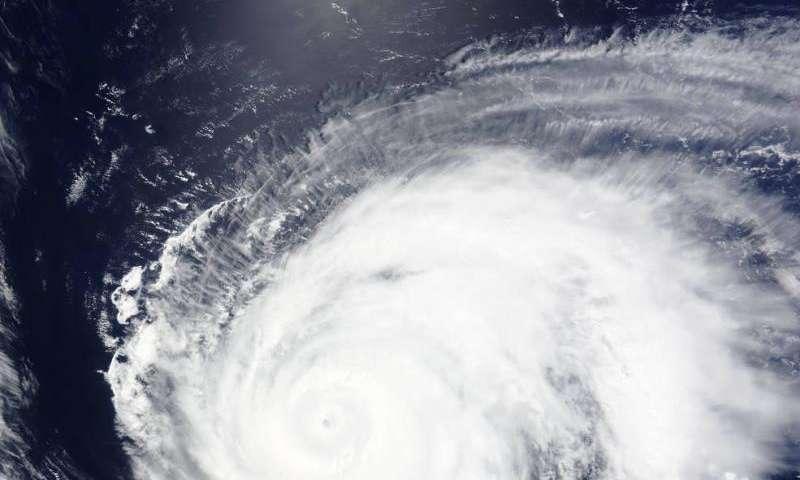 NASA sees Typhoon Nangka moving through Northwestern Pacific