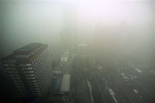 Beijing air pollution reaches hazardous levels (Update)