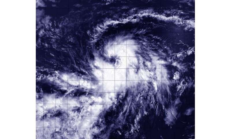 NASA's Terra satellite sees birth of Atlantic Tropical Depression 4