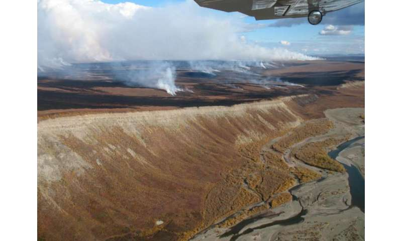 Research links tundra fires, thawing permafrost