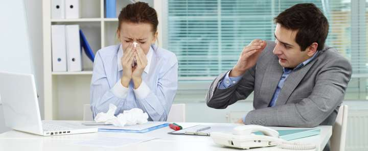 Research reveals main reasons why people go to work when ill