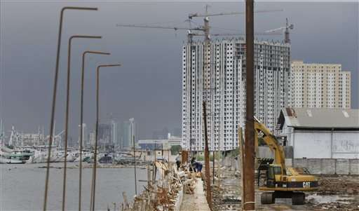 Asia's coastal cities face challenge of rising seas