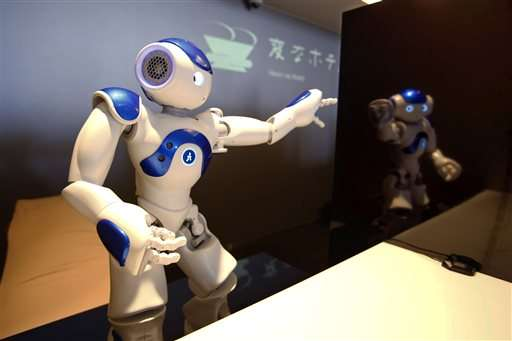 Robots do check-in and check-out at cost-cutting Japan hotel