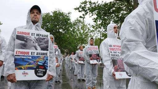According to EU figures for 2011, around 11.5 million animals underwent tests for scientific purposes