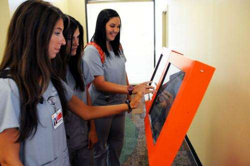 A 'check up from the neck up' — mental health screening kiosks