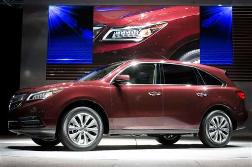 Acura SUV recall shows glitch in automatic braking system