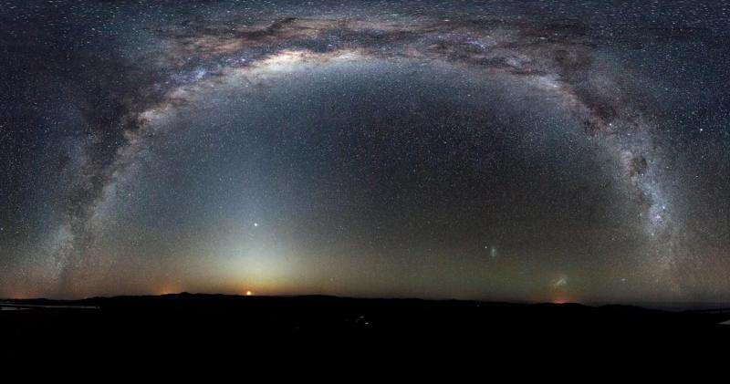 A 'ghost from the past' recalls the infancy of the Milky Way