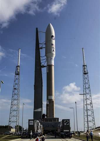 Air Force mystery space plane poised for Wed. launch