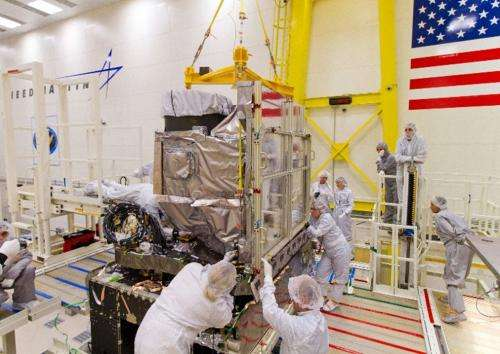 All instruments for NOAA's GOES-R Satellite now integrated with spacecraft